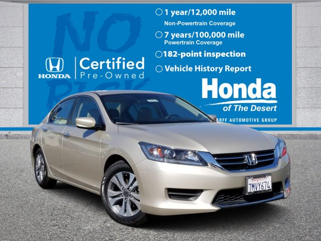 Honda Accord Official Site >> Certified Pre Owned 2015 Honda Accord Sedan Lx Fwd 4dr Car