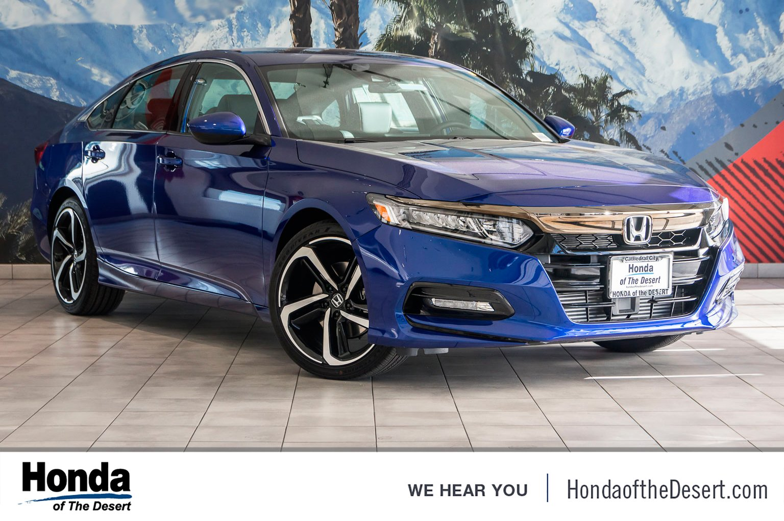New 2019 Honda Accord Sedan Sport 1 5t 4dr Car In Cathedral City 820692 Of The Desert