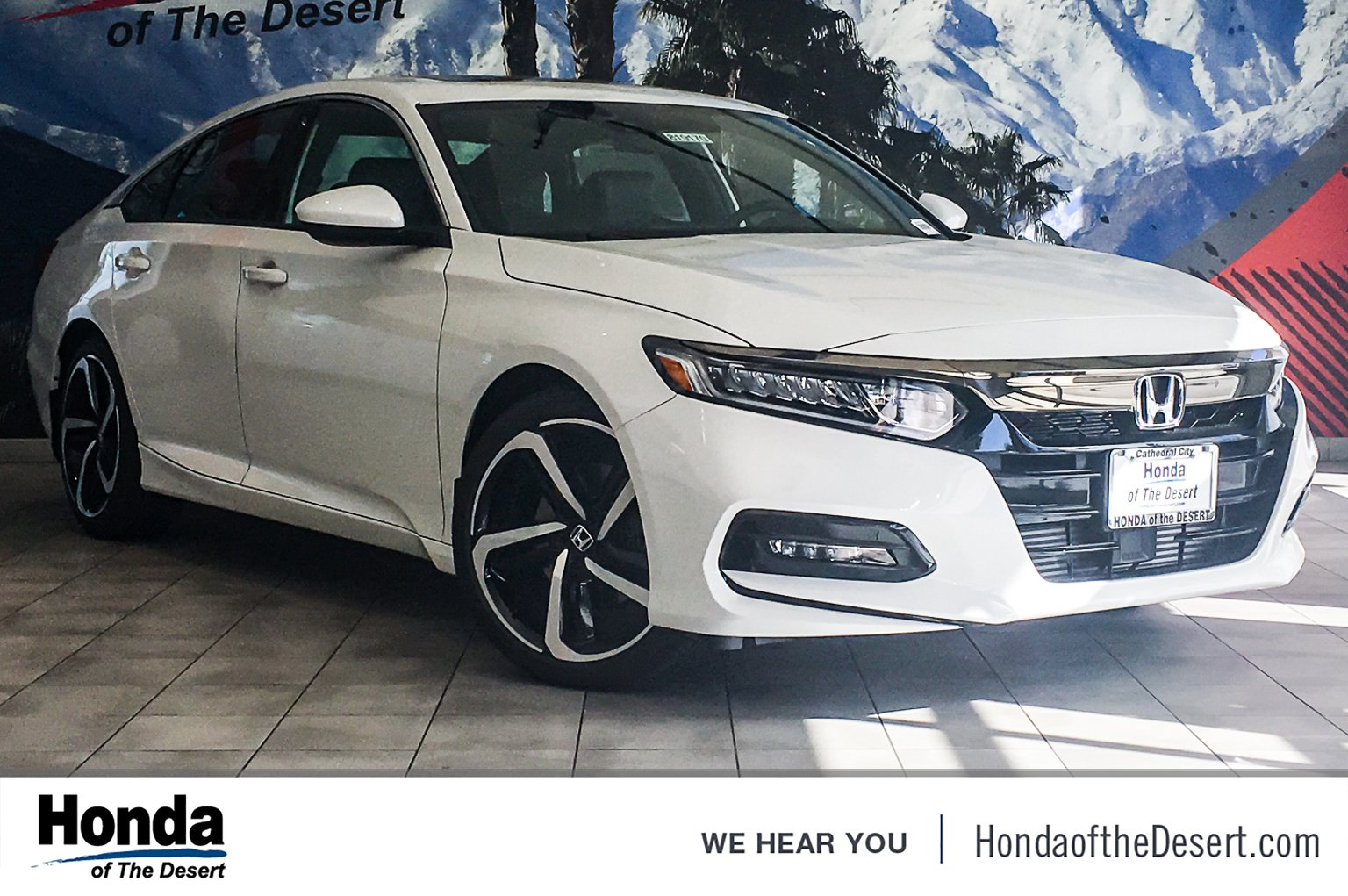 New 2019 Honda Accord Sedan Sport 2 0t 4dr Car In Cathedral City 820640 Of The Desert