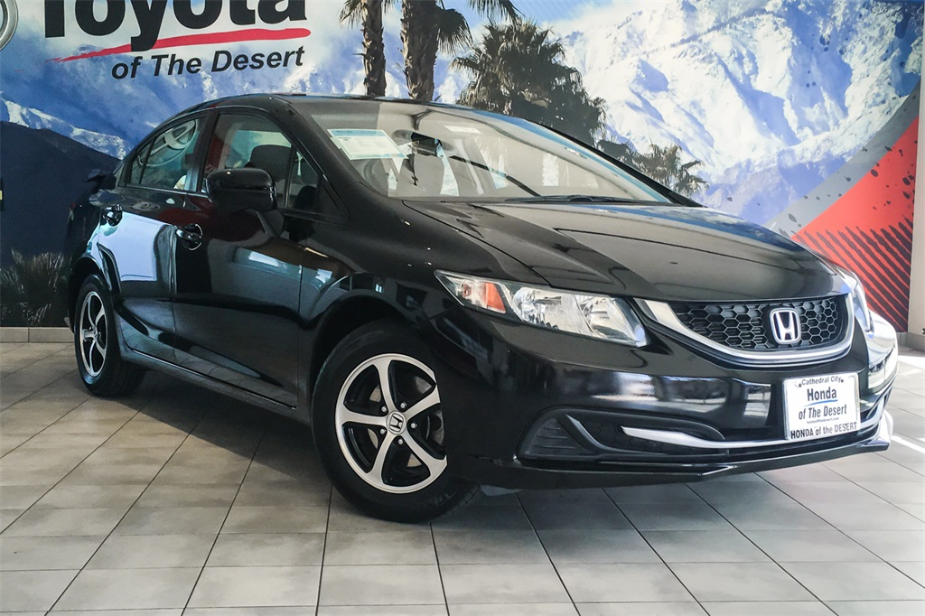 High Quality Pre Owned 2015 Honda Civic SE