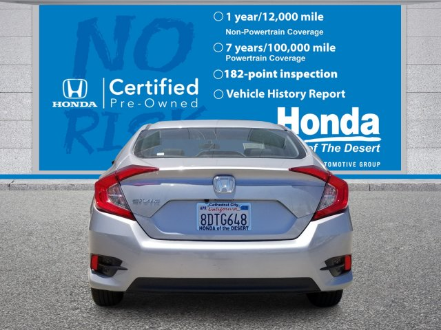 Certified Pre-Owned 2018 Honda Civic Sedan LX FWD 4dr Car