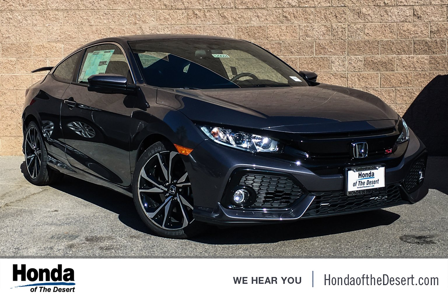 New 2019 Honda Civic Si Coupe 2dr Car In Cathedral City 820684