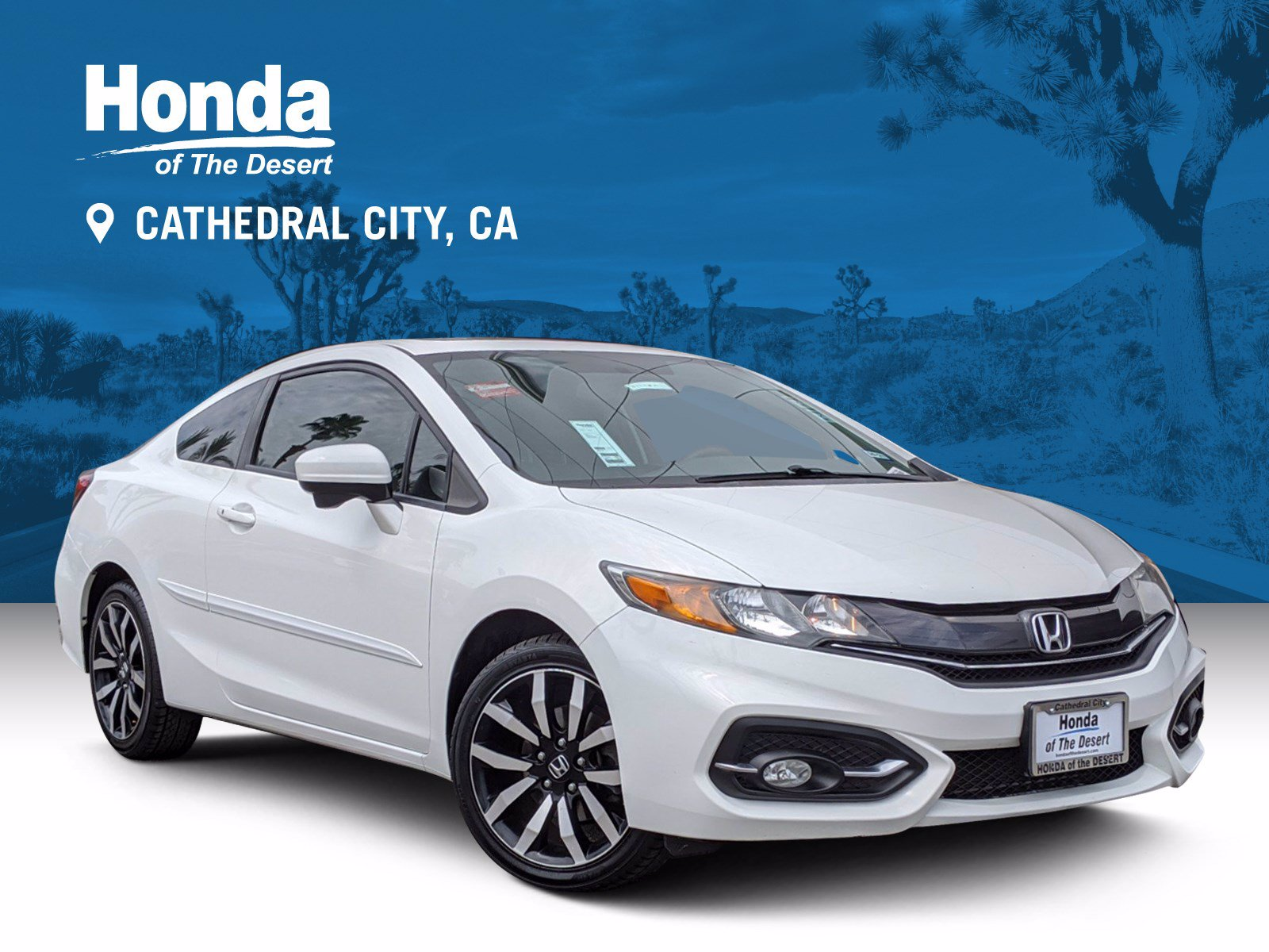 Pre-Owned 2014 Honda Civic Coupe EX-L