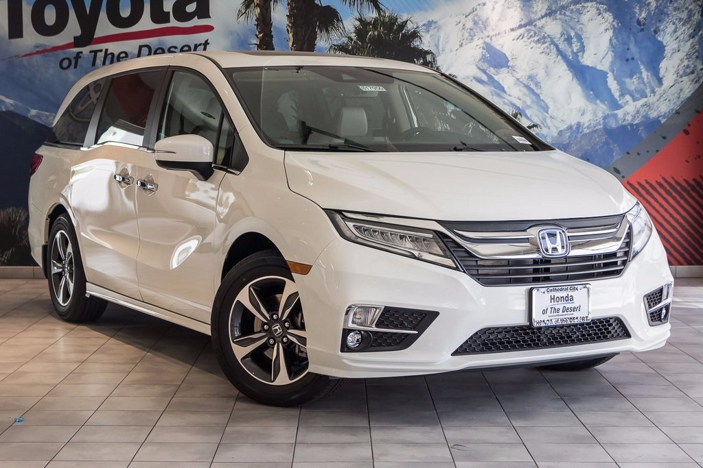 new 2018 honda odyssey touring 4d passenger van in cathedral city 817950 honda of the desert. Black Bedroom Furniture Sets. Home Design Ideas