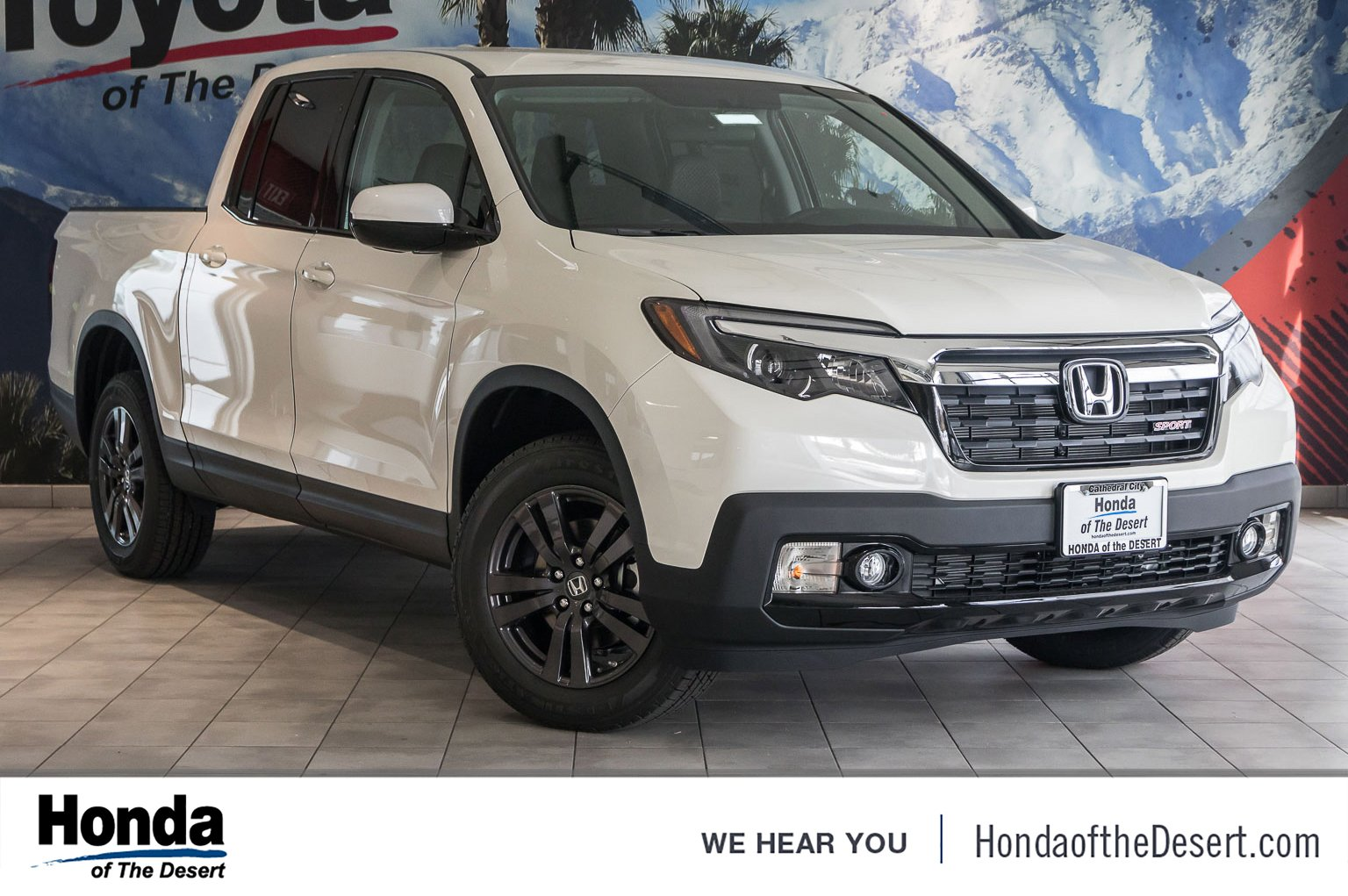 New 2019 Honda Ridgeline Sport Crew Cab Pickup In Cathedral City