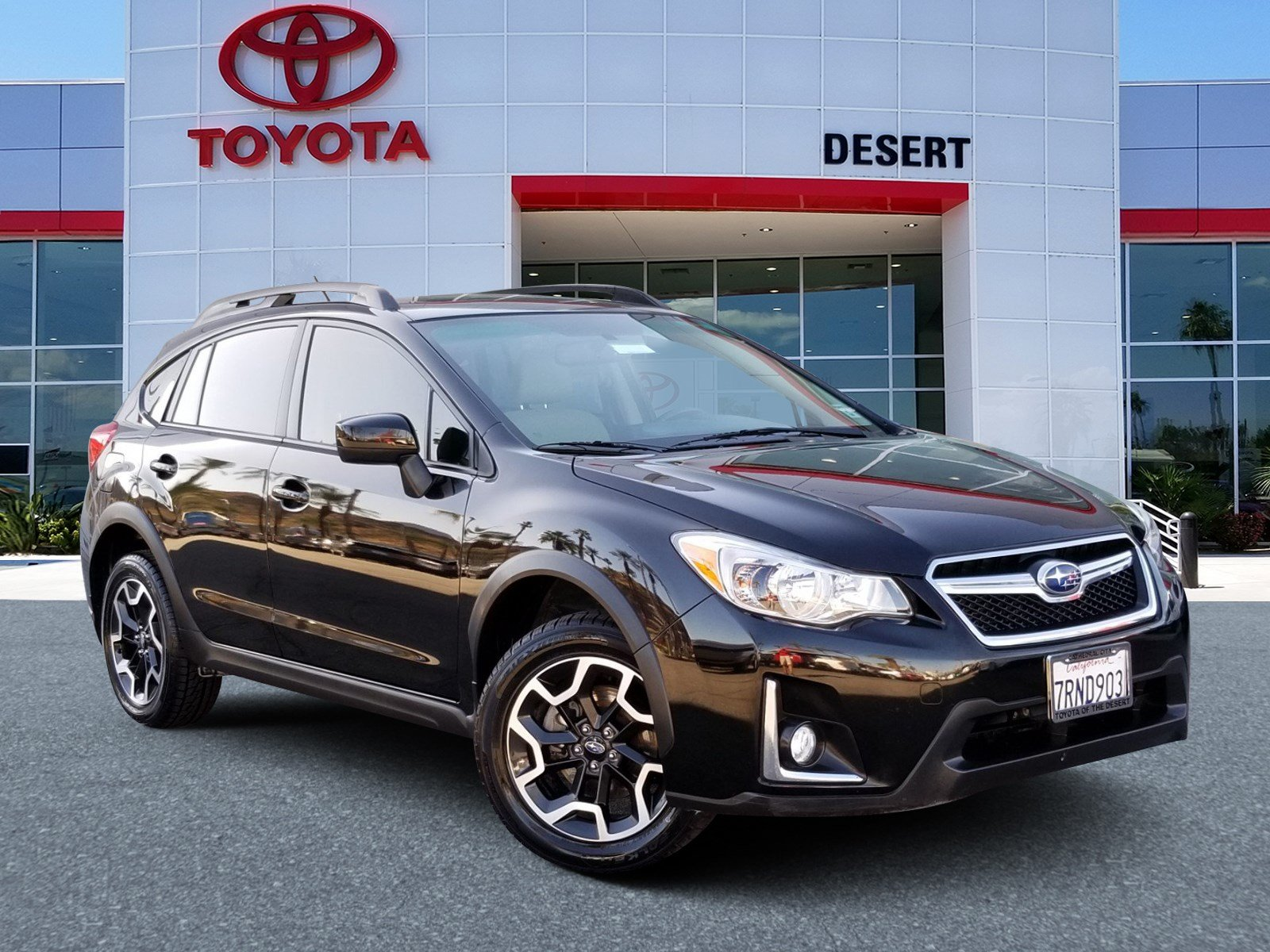 Toyota Of The Desert >> Pre Owned 2016 Subaru Crosstrek Premium Awd Sport Utility