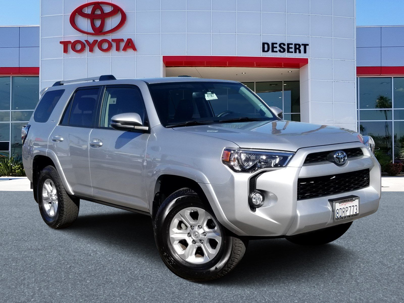 Toyota Of The Desert >> Pre Owned 2019 Toyota 4runner Sr5 Rwd Sport Utility