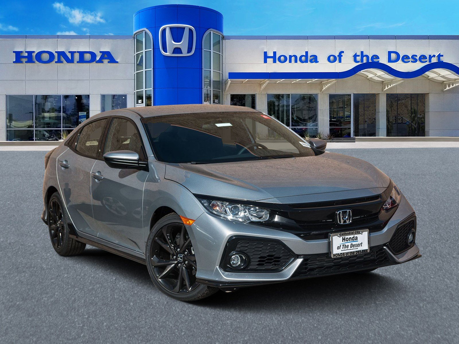 Honda Civic New >> New 2019 Honda Civic Hatchback Sport Fwd Hatchback