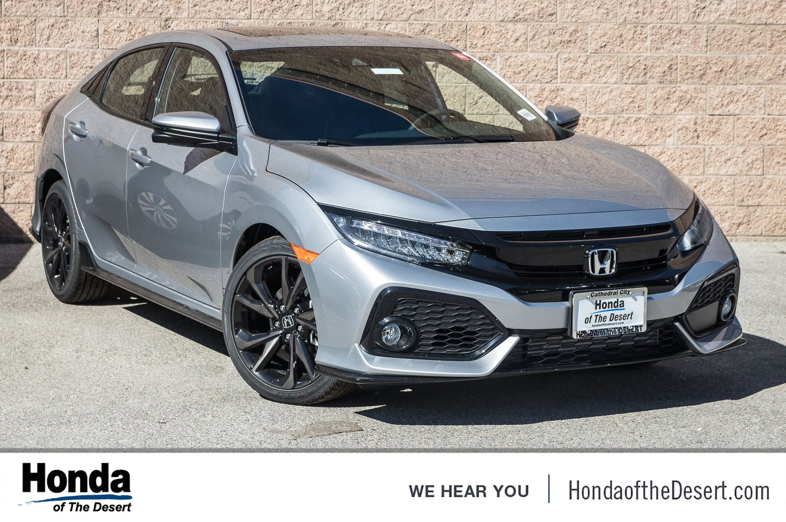 New 2018 Honda Civic Hatchback Sport Touring Hatchback In Cathedral