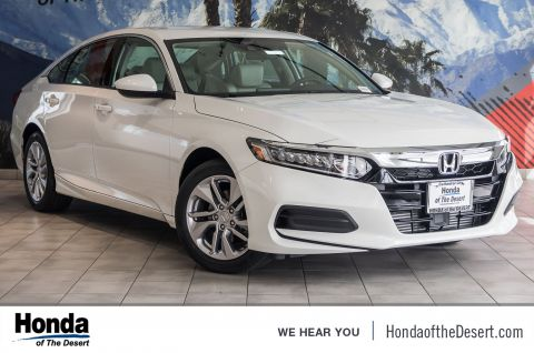 New 2019 Honda Accord Sedan LX